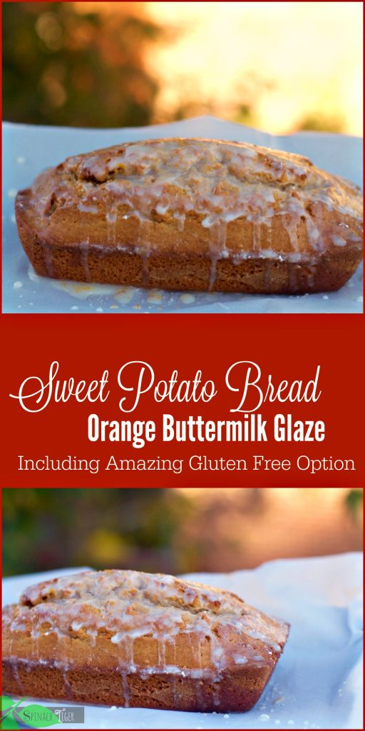 How to make gluten free sweet potato bread recipe from Spinach Tiger