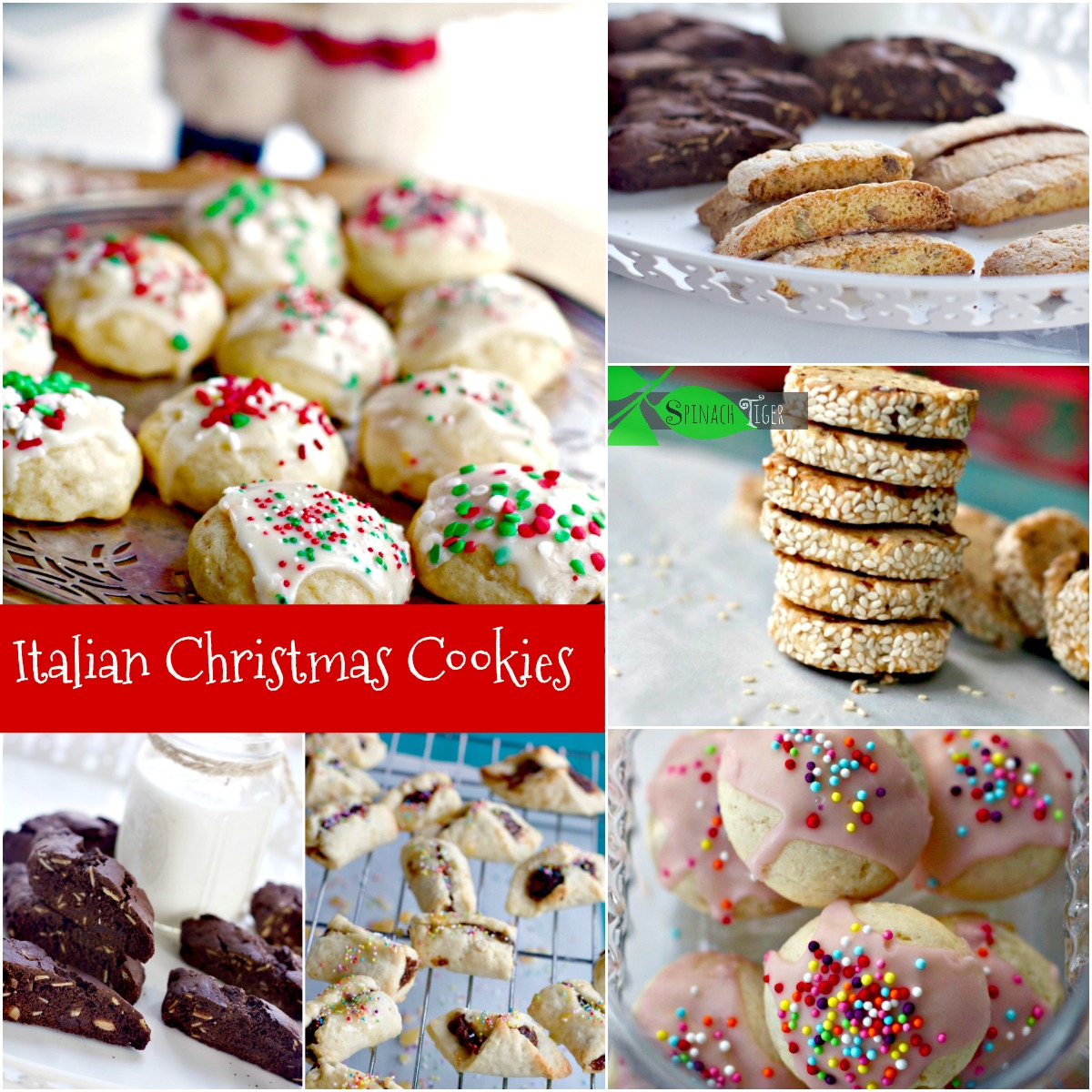 Italian Christmas Cookies from Spinach Tiger