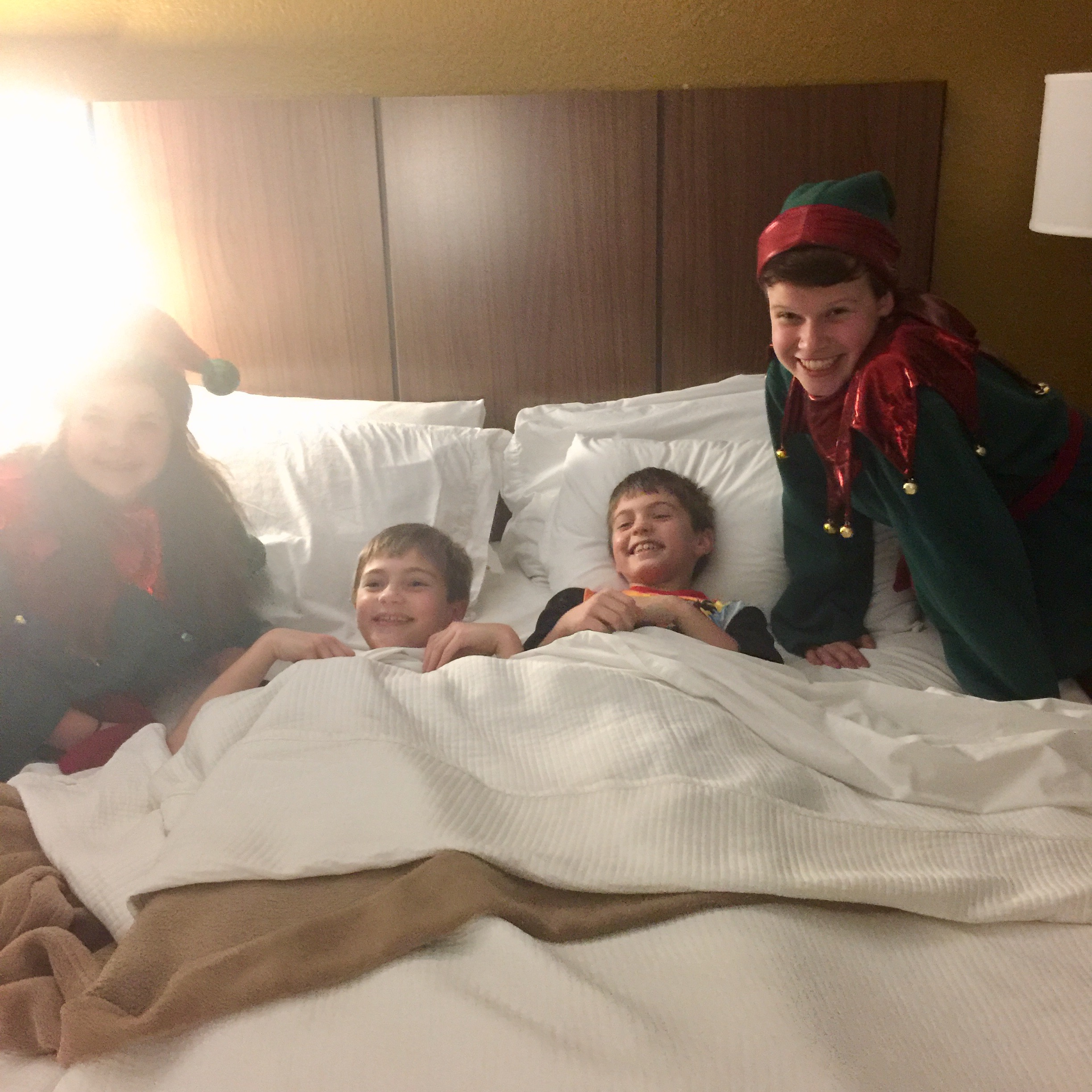 Elf Tuck in at the Chattanooga Choo Choo Hotel from Spinach Tiger