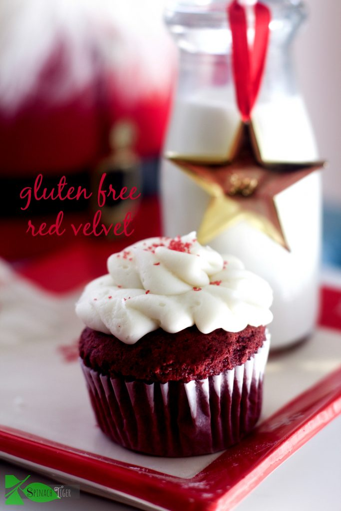 How to Make Gluten Free Red Velvet Cupcakes from Spinach Tiger