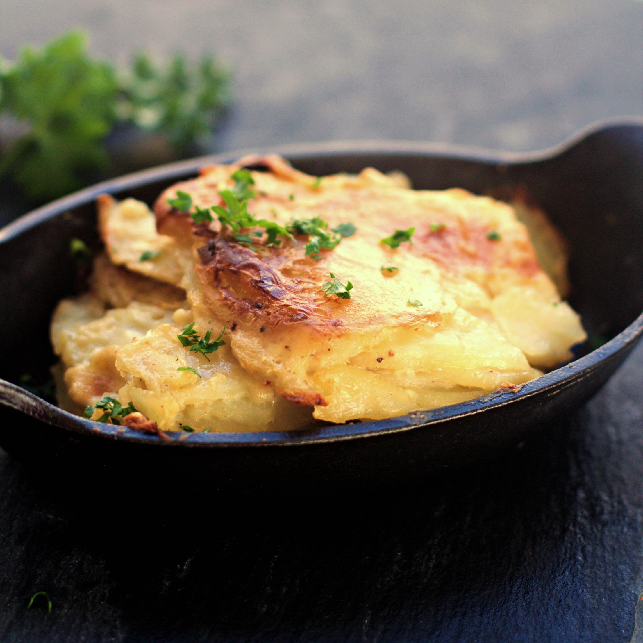 scalloped potatoes perfect side for tenderloin roast