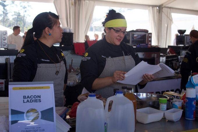 Bacon Ladies at World Food Championships from Spinach TIger