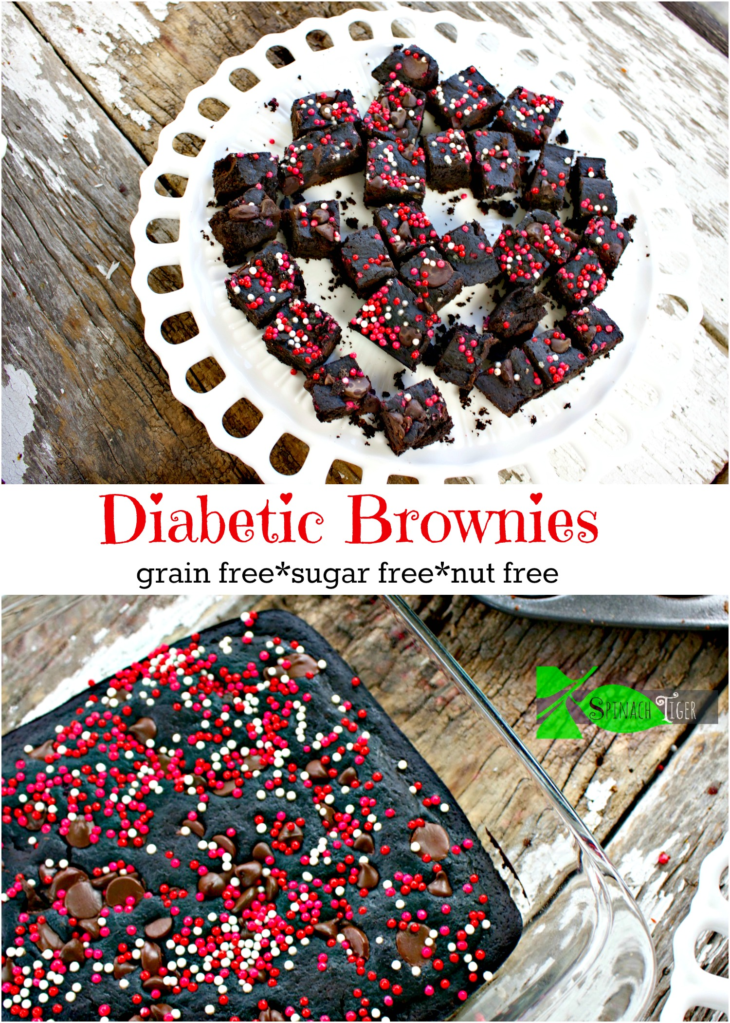 How to Make Diabetic Brownies from Spinach Tiger