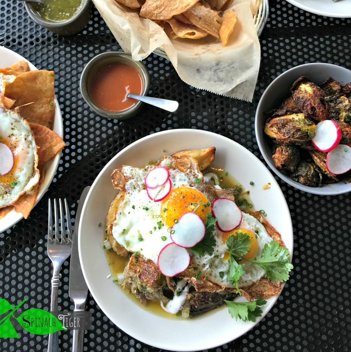 Carnitas Hash at Bajo Sexto Taco Hash from Spinach Tiger