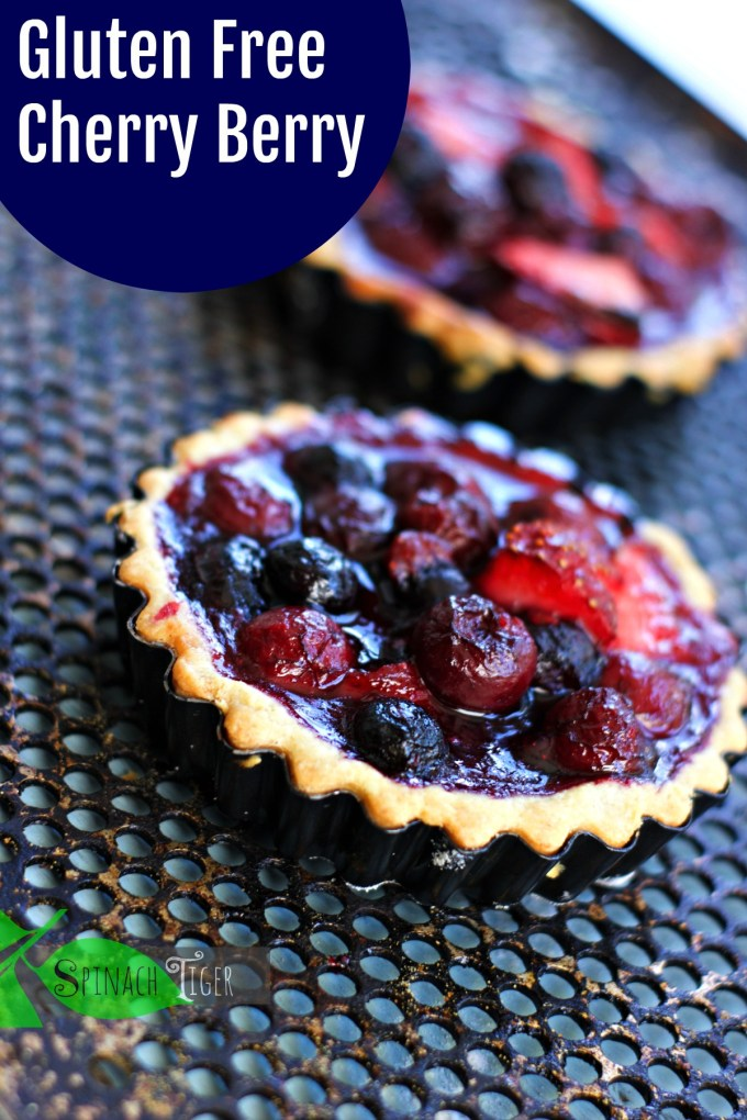 Perfect Gluten Free Tart Crust from Spinach Tiger