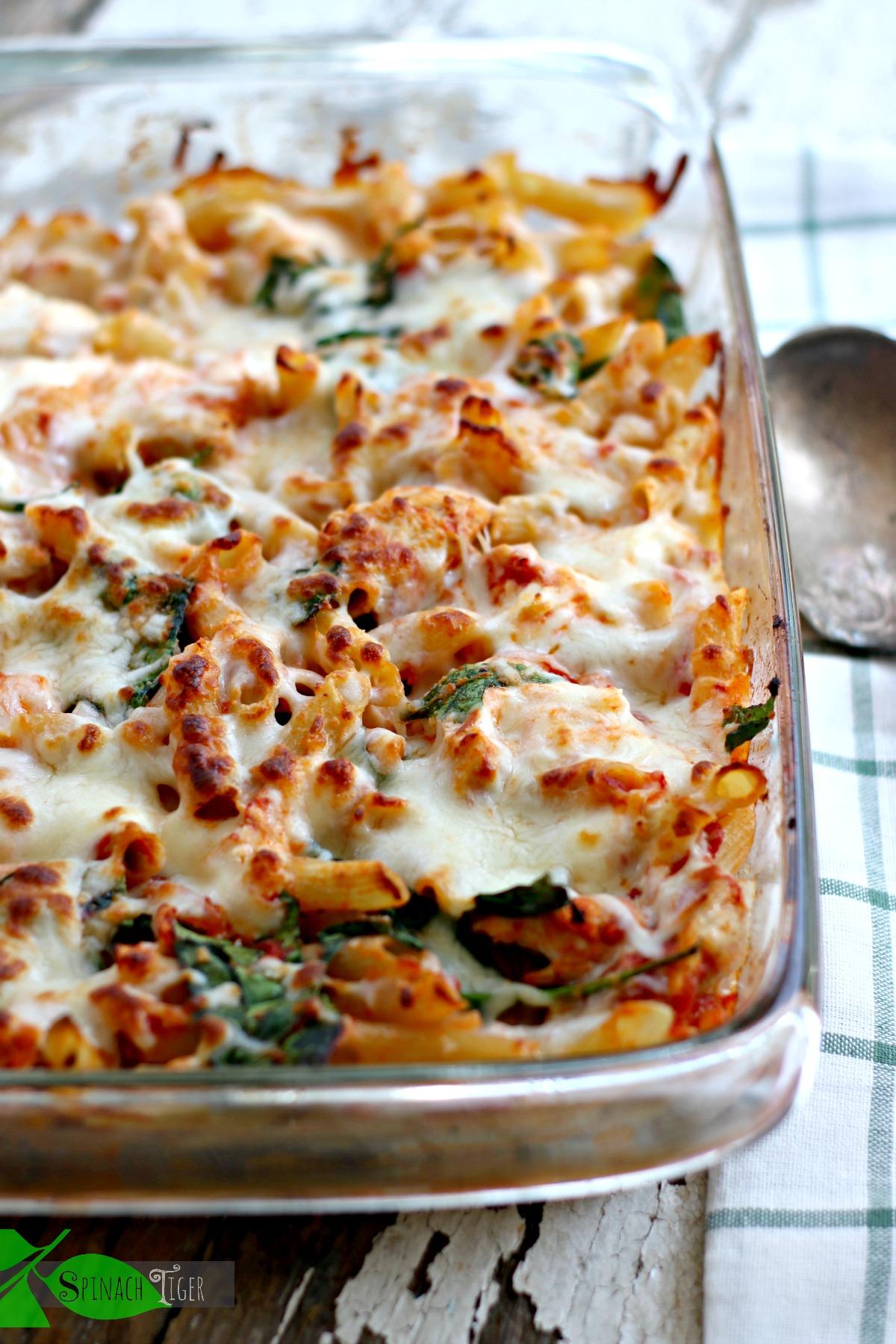 Best Chicken Pasta Bake from Scratch by Spinach Tiger