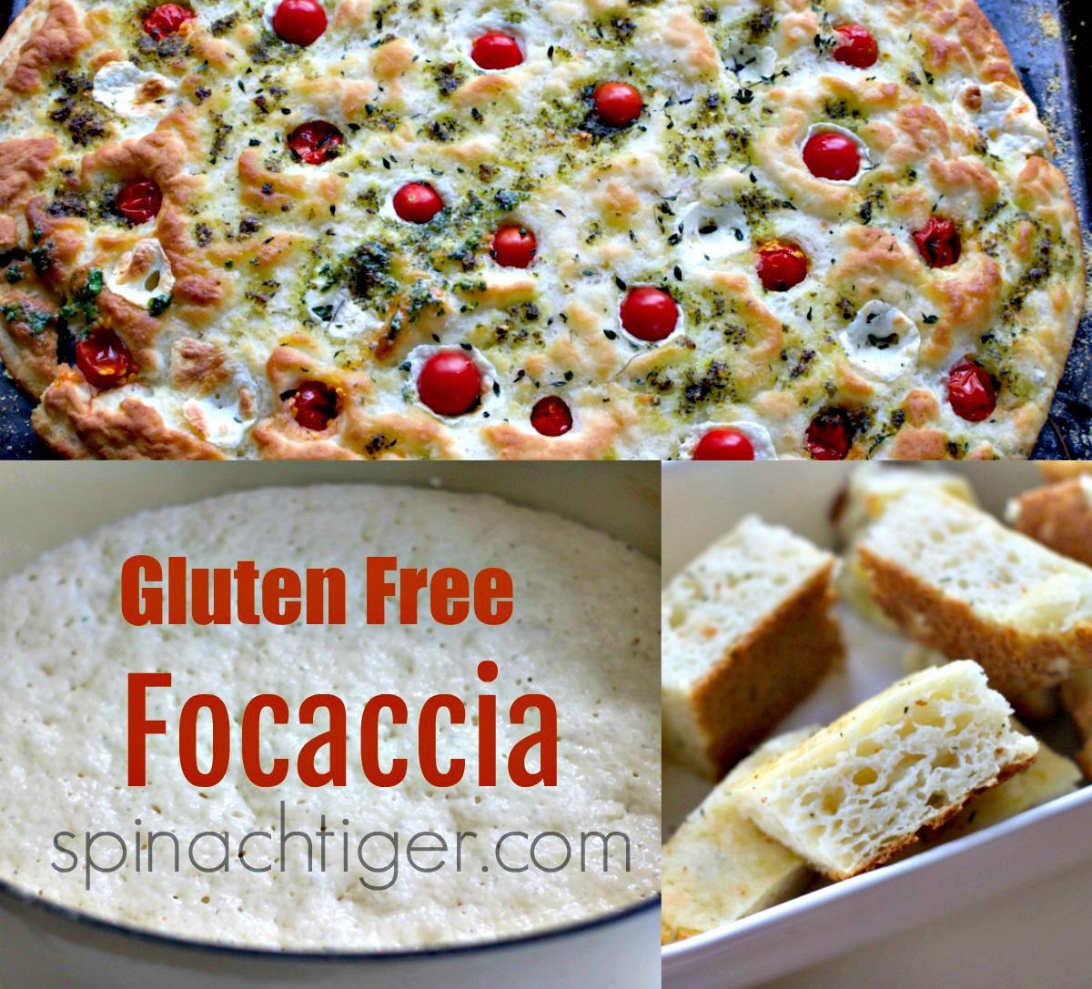 Gluten Free Focaccia from Spinach Tiger