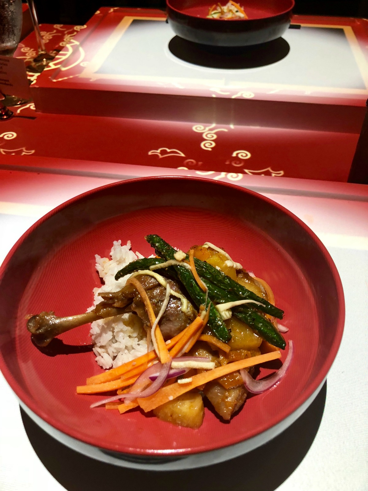 Chinese Duck at Dinner Time Stories from Spinach Tiger