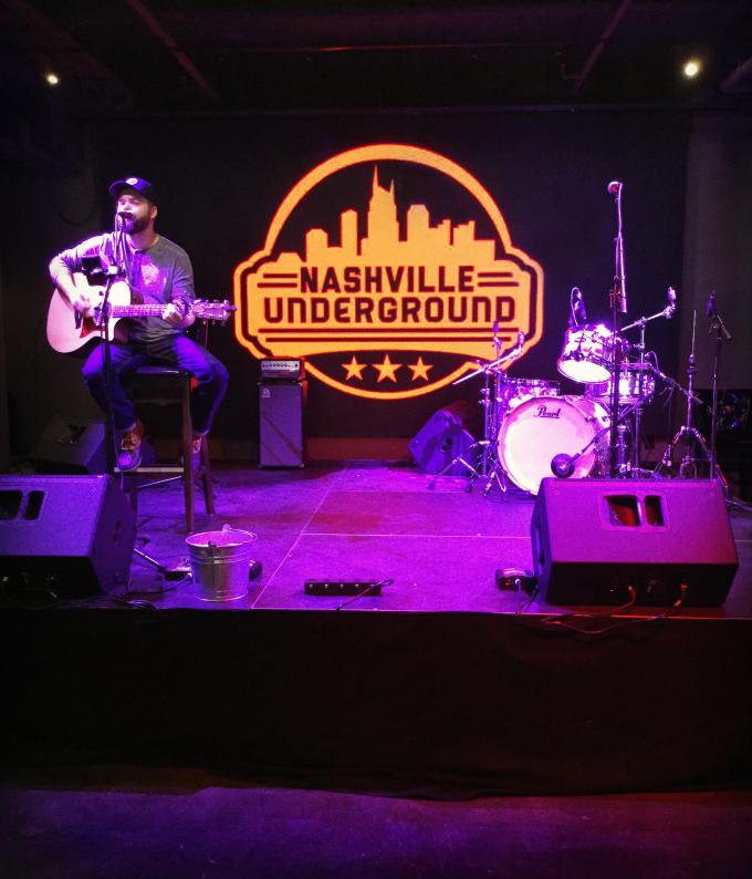 Nashville Underground First Floor Stage from Spinach Tiger