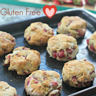 Strawberry Biscuits Gluten Free