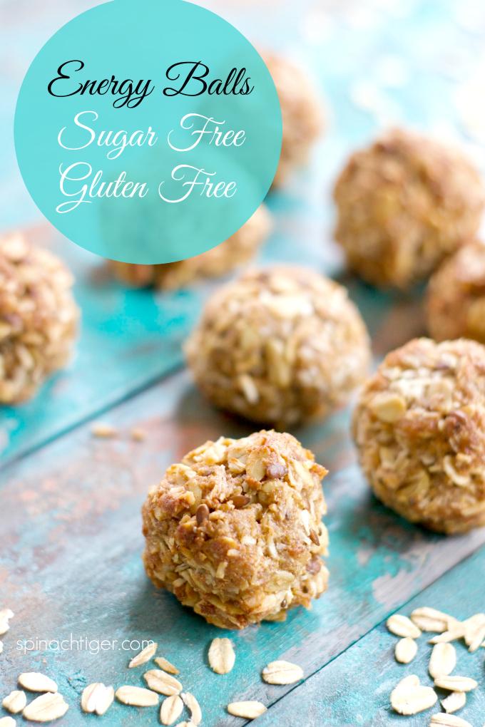 Brown Butter Energy Balls, Gluten Free, Sugar Free. Made wth Oats. #energyballs #sugarfreeenergyballs #glutenfreeenergyballs #spinachtiger via @angelaroberts