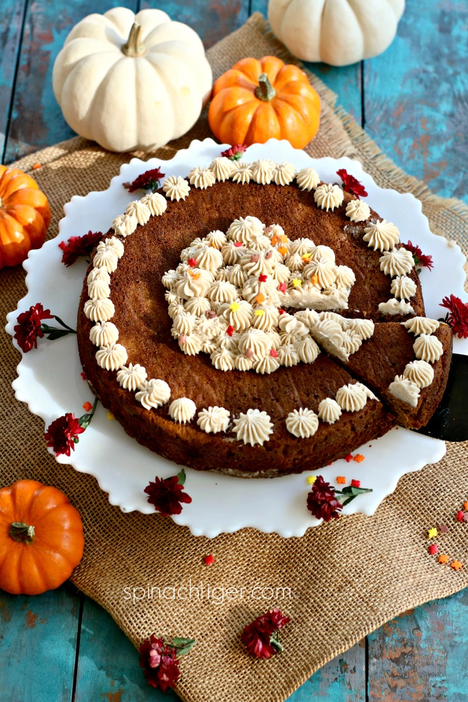 Pumpkin Spice Cake for Keto Thanksgiving, Low Carb, Grain Free, Sugar Free , Gluten free
