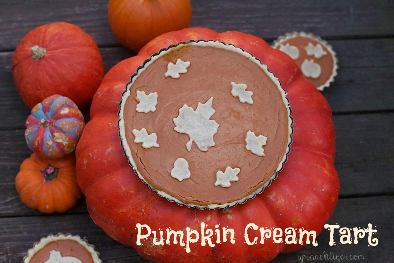 Pumpkin Cream Tart