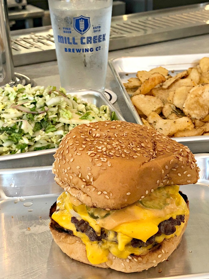 Nashville's Best Burgers: Mill Creek Taproom Burger from Spinach Tiger