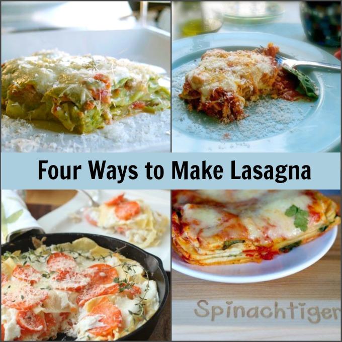 Christmas Dinner Ideas:Four Ways to Make Lasagna