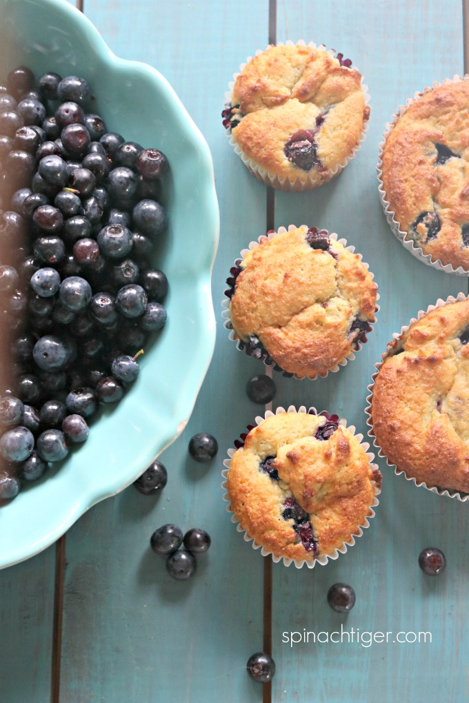 Keto Blueberry Muffin