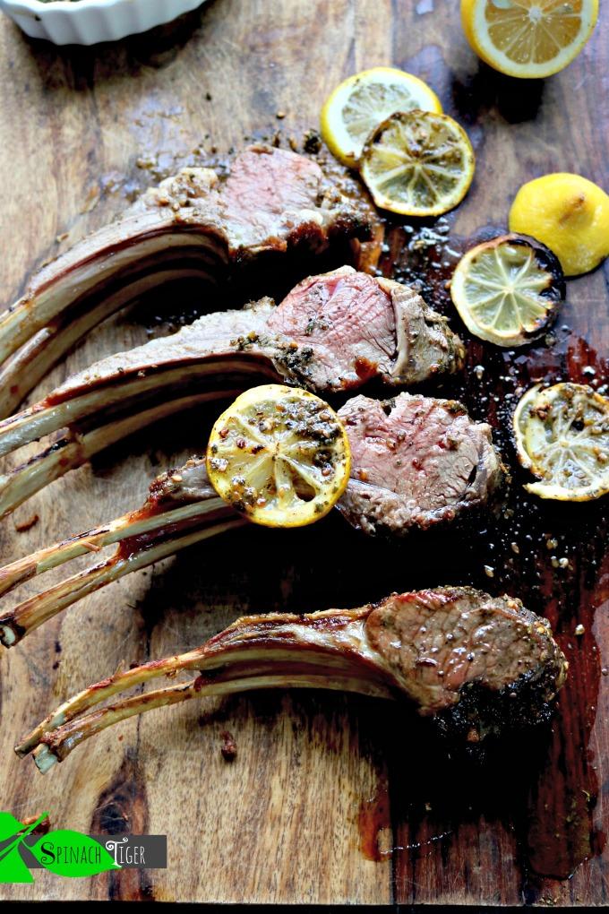 Reverse Sear Lamb Chops