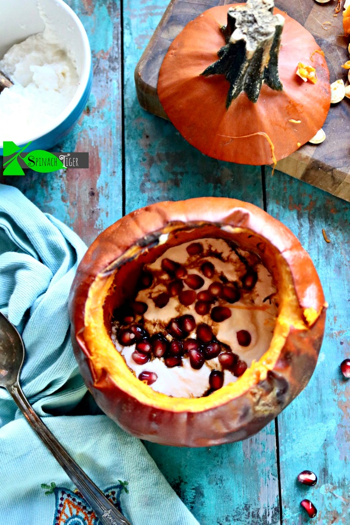 Roasted Pumpkin Recipe from Spinach Tiger