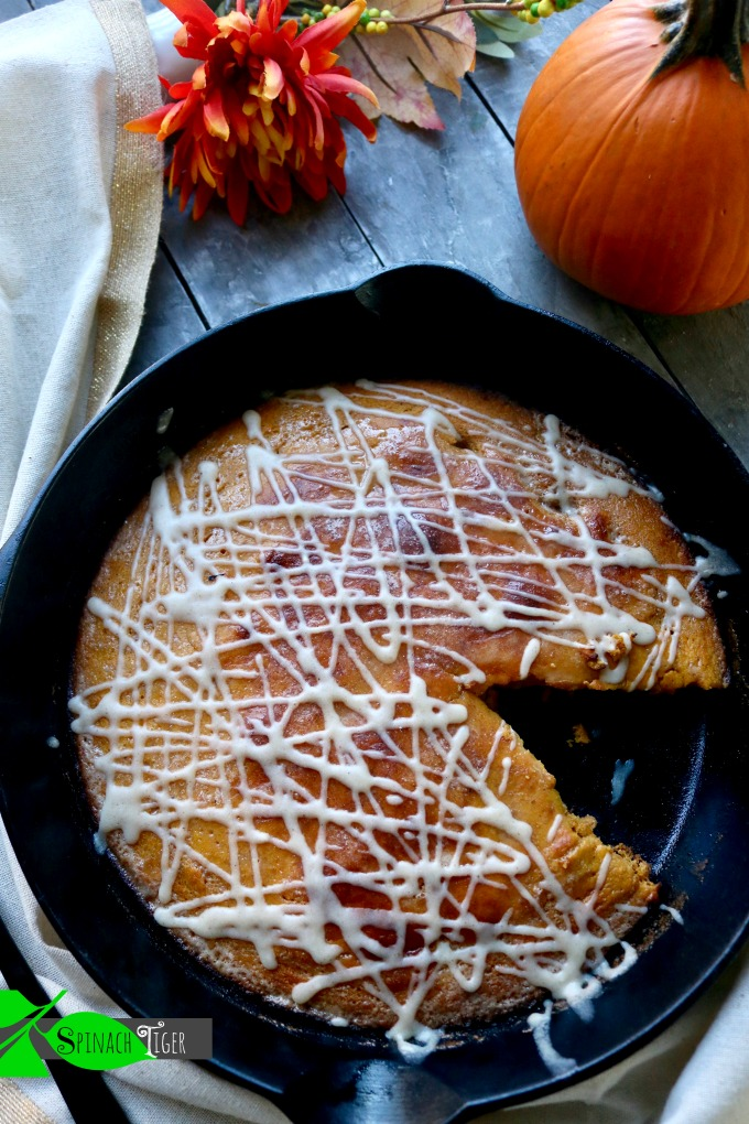 Keto Pumpkin Dutch Baby