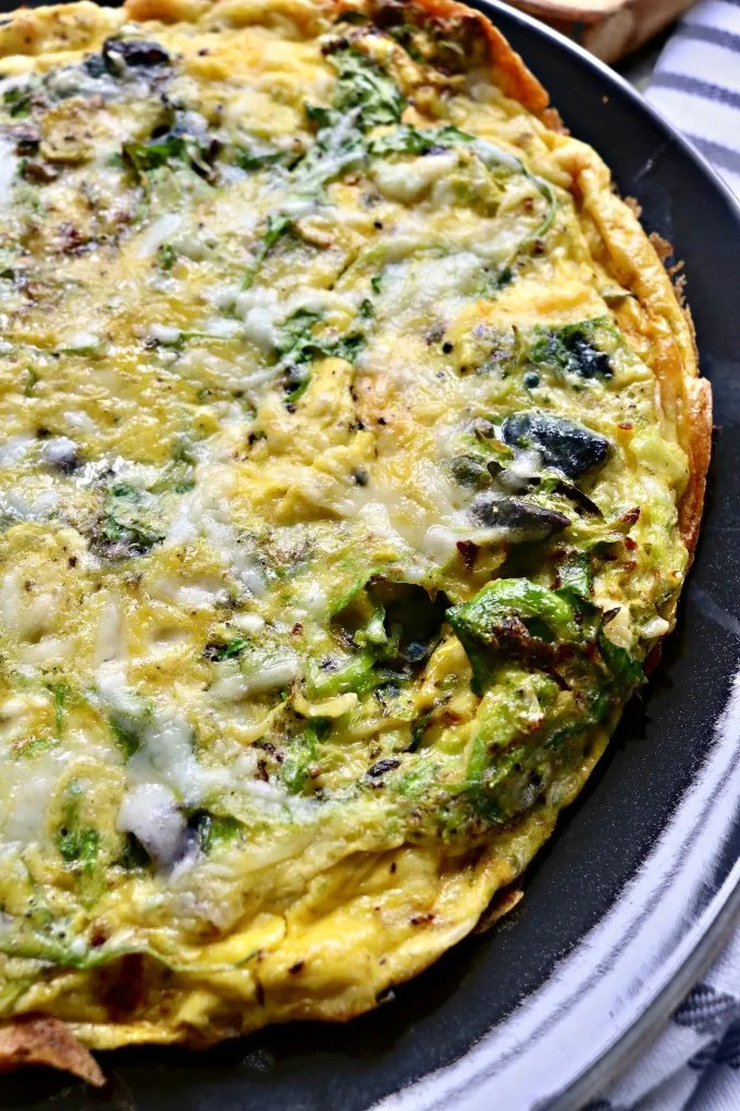 Brussels Sprouts Frittata