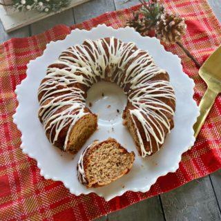 Keto Spice Cake with Cream Glaze
