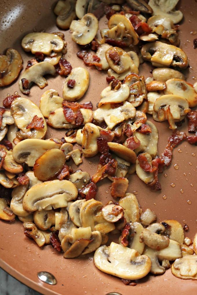 Steak Mushroom Sauce (Mushrooms Bacon Shalllots)