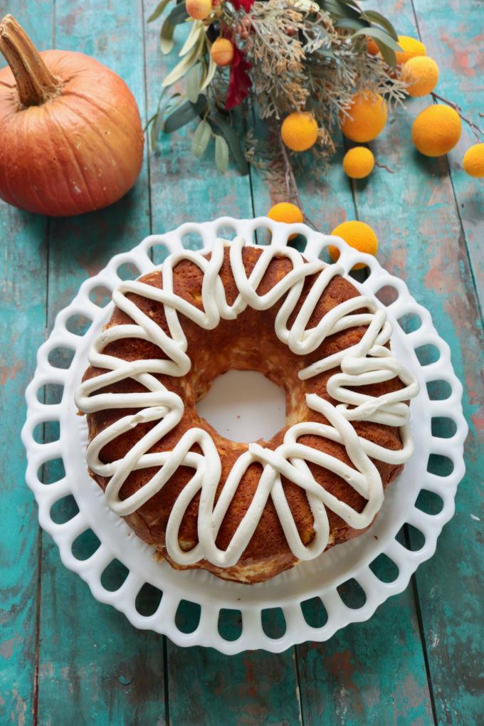 Low Carb Pumpkin Bundt Cake Recipe