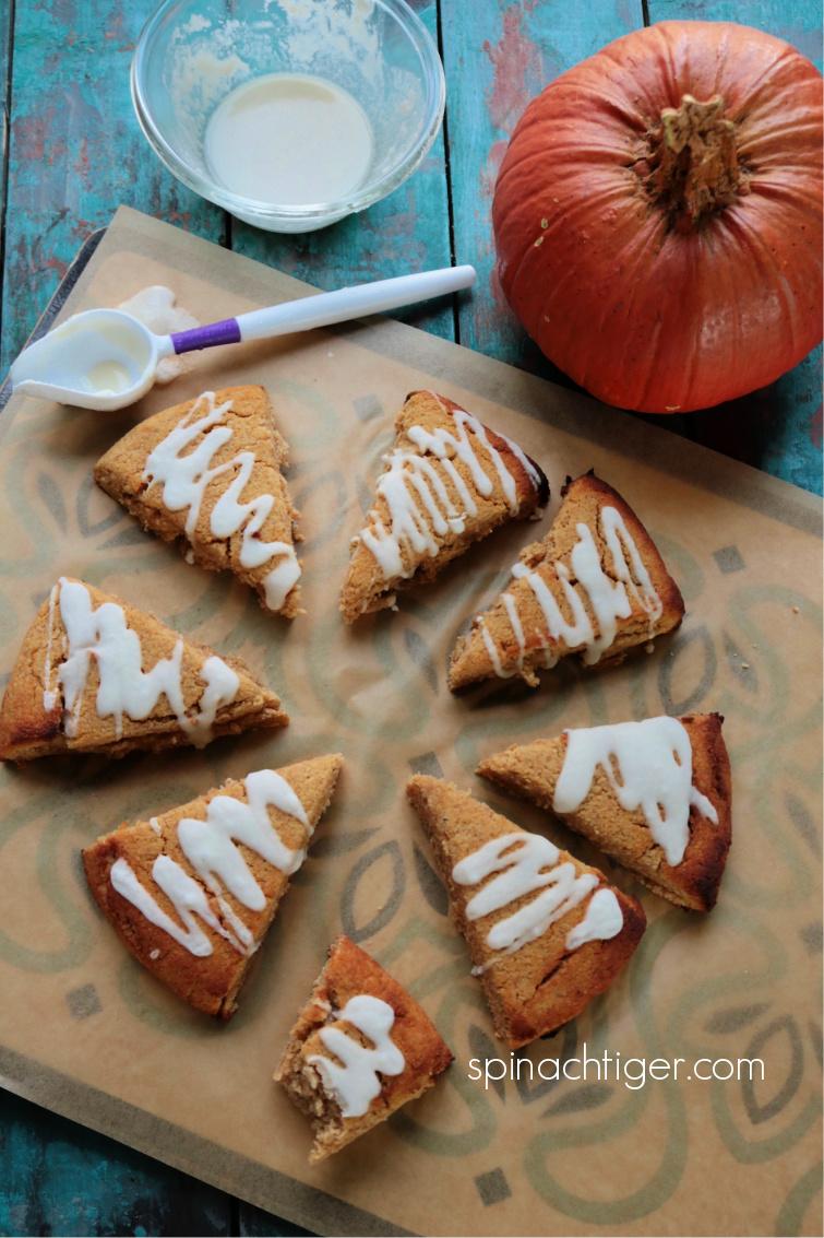 Keto Pumpkin Scones Gluten Free