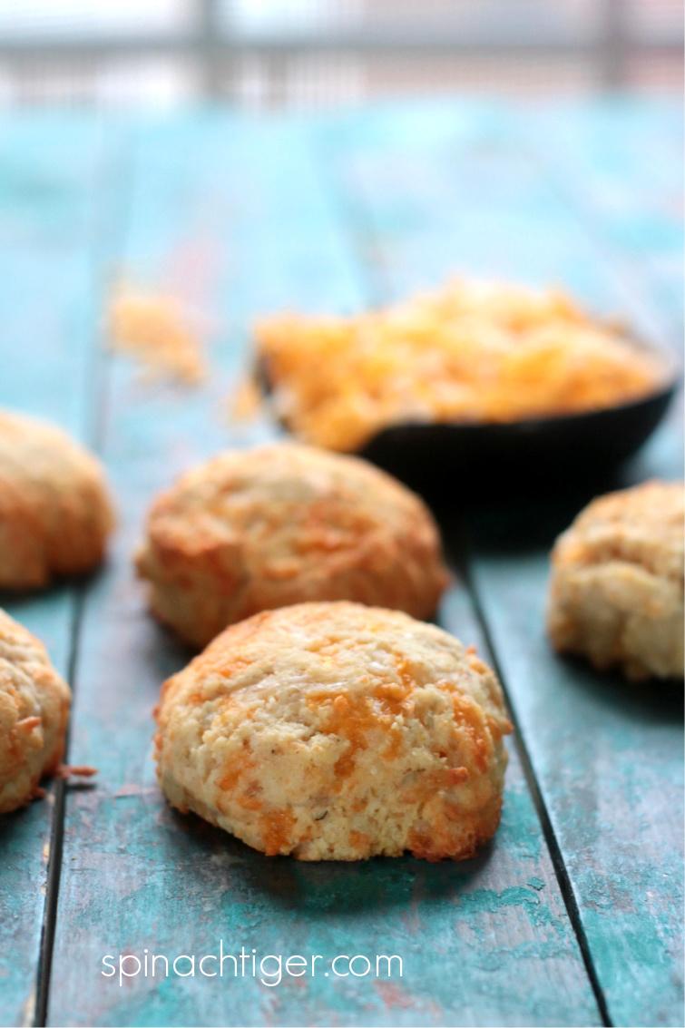 gluten free, grain free keto cheddar bay biscuits