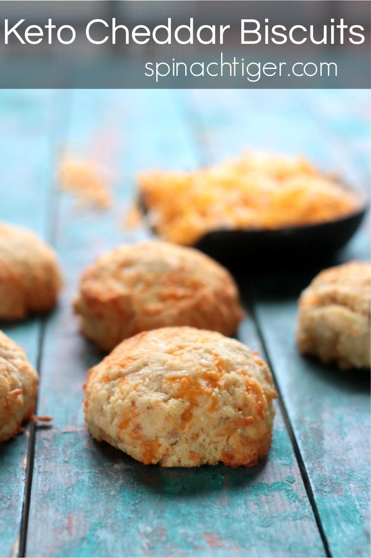 Sold in my Nashville Keto Bakery. Easy to make, Keto Cheddar Bay Biscuits. No sponge cake texture. Crispy outside, fluffy inside, make with cheddar cheese, old bay seasoning or garlic powder. #ketocheddarbiscuits #glutenfreecheddarbiscuits #spinachtiger #ketobreadrecipe via @angelaroberts