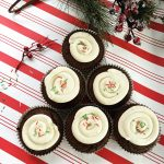 Chocolate Peppermint Cupckaes