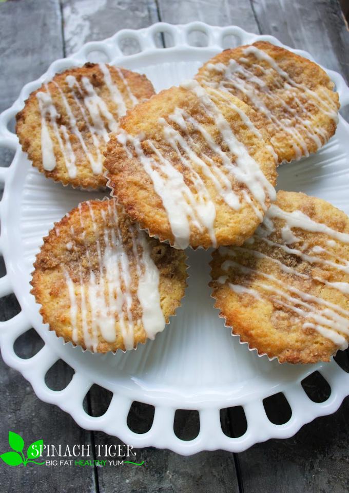 Keto Coffee Cake Muffin