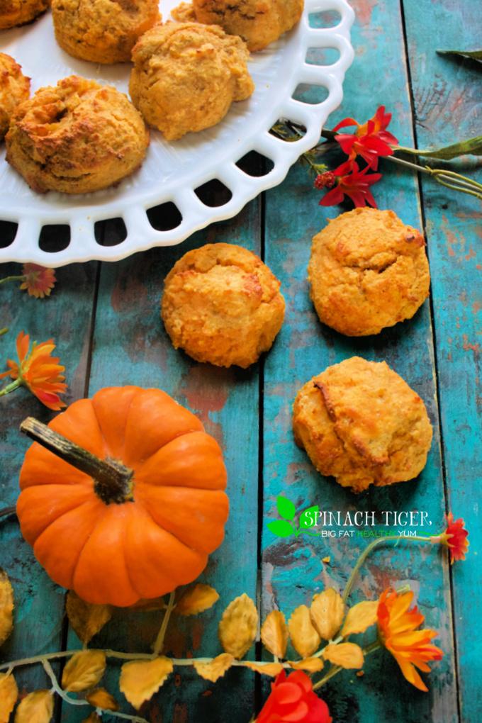 Keto Pumpkin Biscuits