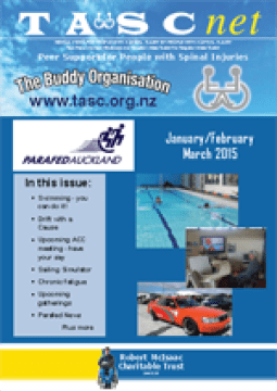 Cover of The TASC Net Newsletter January 2015- cover has 1 photos