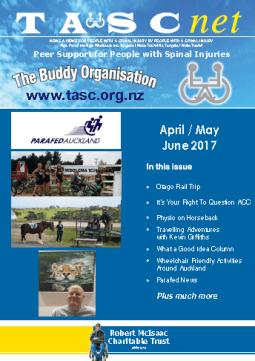 Cover of The TASC Net Newsletter June 2017 - cover has 2 photos