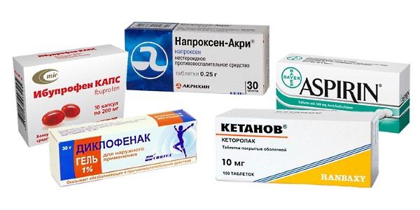 Για να εξαλείψετε τη φλεγμονή και το πρήξιμο, μπορείτε να χρησιμοποιήσετε ένα από αυτά τα φάρμακα.