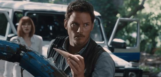 """Chris Pratt im neuen Trailer von """"Jurassic World"""""""