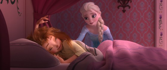 """Anna und Elsa im Disney-Kurzfilm """"Frozen Fever"""""""