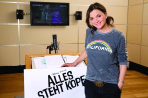 Katja von Garnier als Regisseurin der Traum Studios