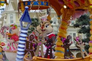 Die Weihnachtsparade mit Clarice im Disneyland Paris