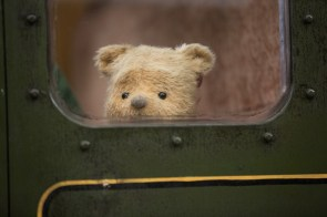 Winnie the Pooh in Disney's live-action adventure CHRISTOPHER ROBIN.