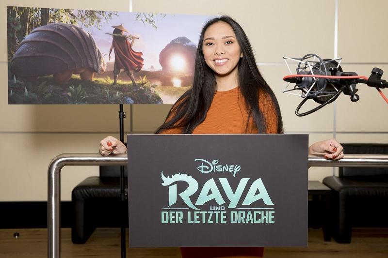 """Christina Ann Zalamea als Synchronstimme von Raya in Disneys """"Raya und der letzte Drache"""""""