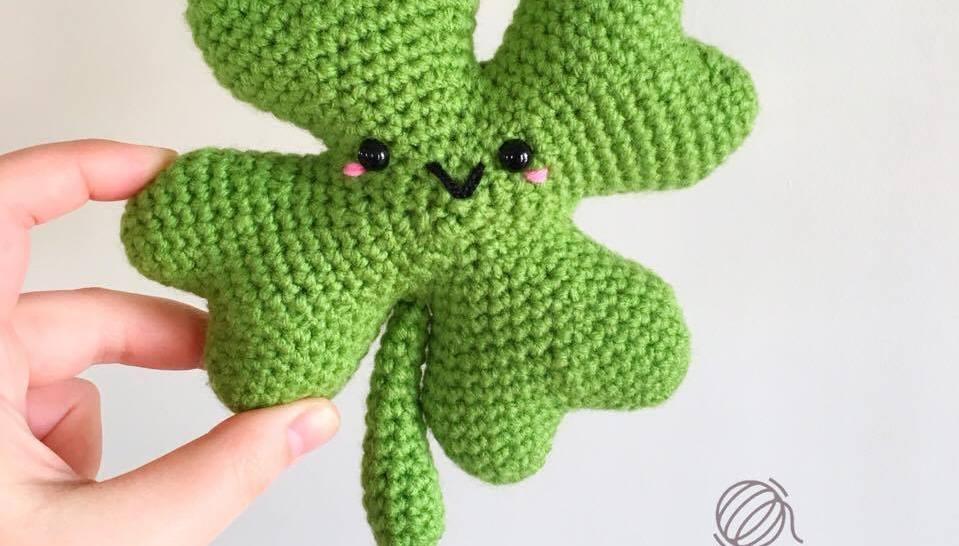 Seamus Shamrock Free Crochet Pattern Spin A Yarn Crochet