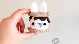 S'mores Bunny Free Crochet Pattern
