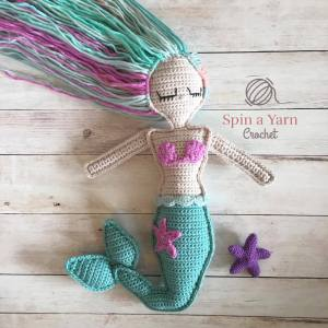 Ragdoll Mermaid Free Crochet Pattern Spin A Yarn Crochet