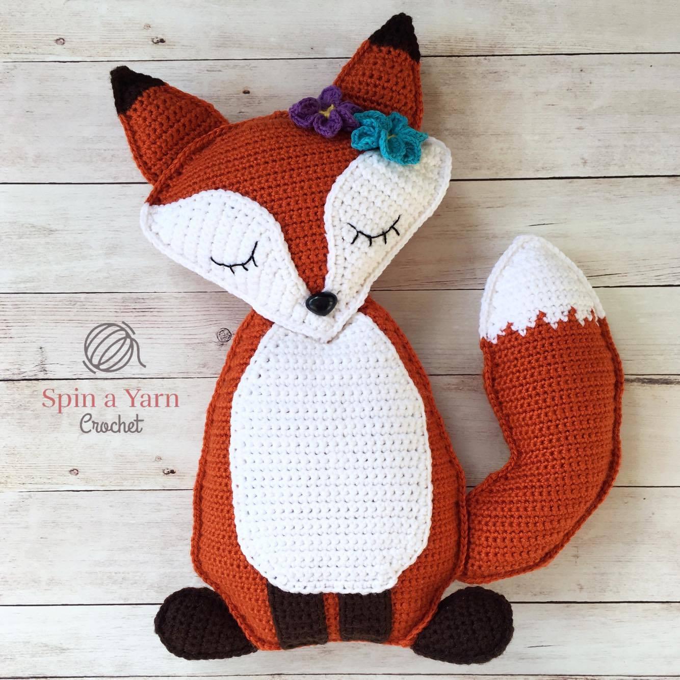 Crochet Fox Hat Pattern Free Awesome Inspiration Design