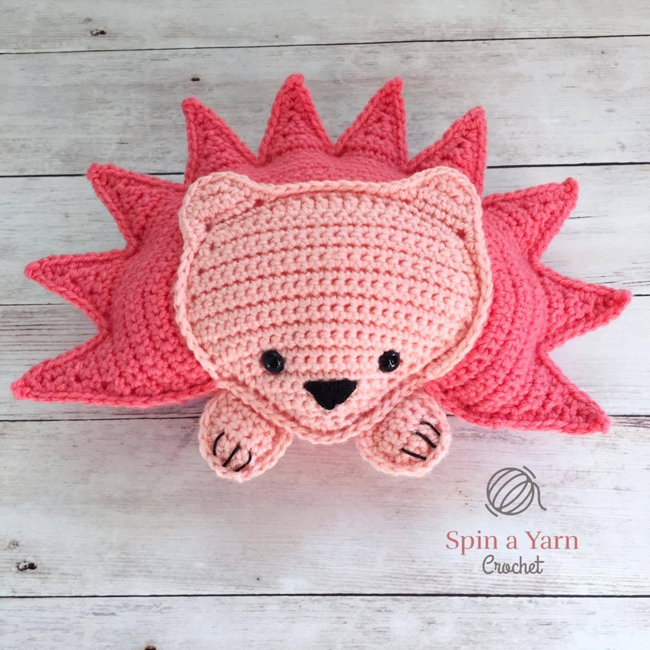 Pink Hedgehog