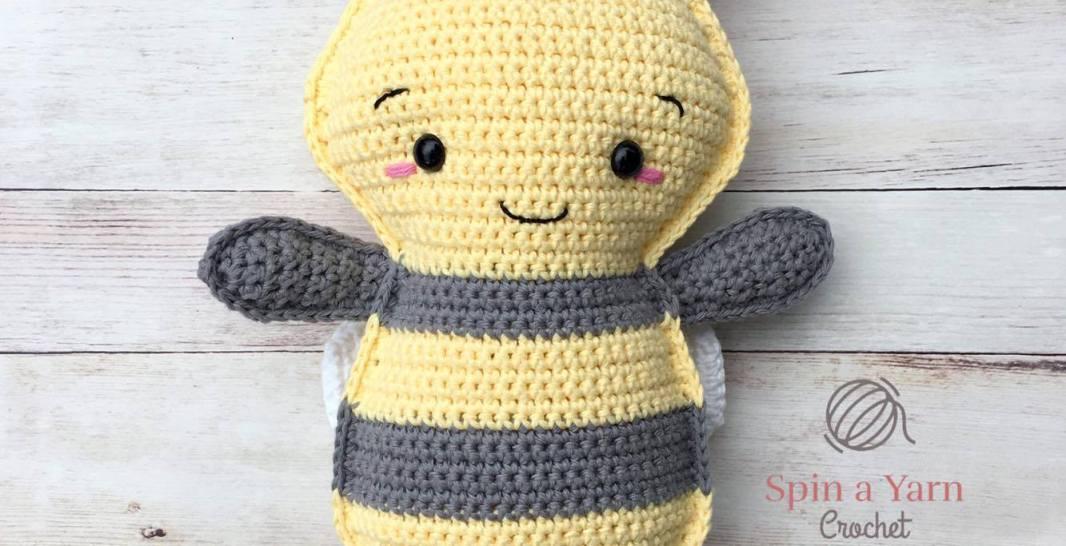 Soft & Dreamy Bee amigurumi pattern - Amigurumi Today | 546x1066