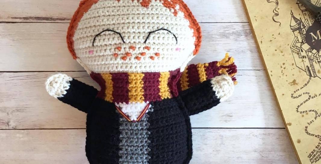 Ragdoll Ron Weasley Free Crochet Pattern • Spin a Yarn Crochet