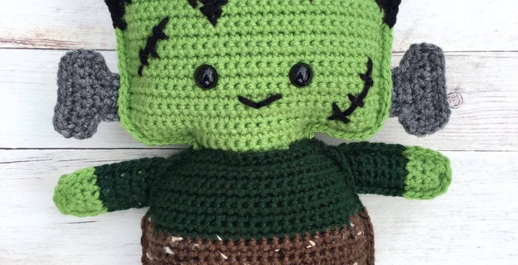 Frankensteins Monster Free Crochet Pattern Spin A Yarn Crochet